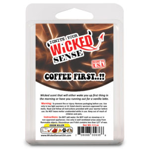 Coffee First Hand Poured Wax Melts